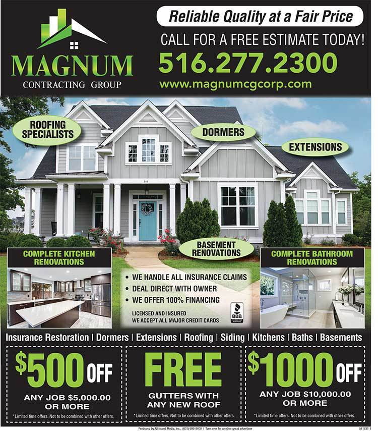 long island roofing contractor specials